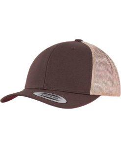 Trucker Cap Mesh Braun/Braun/Khaki - verstellbar