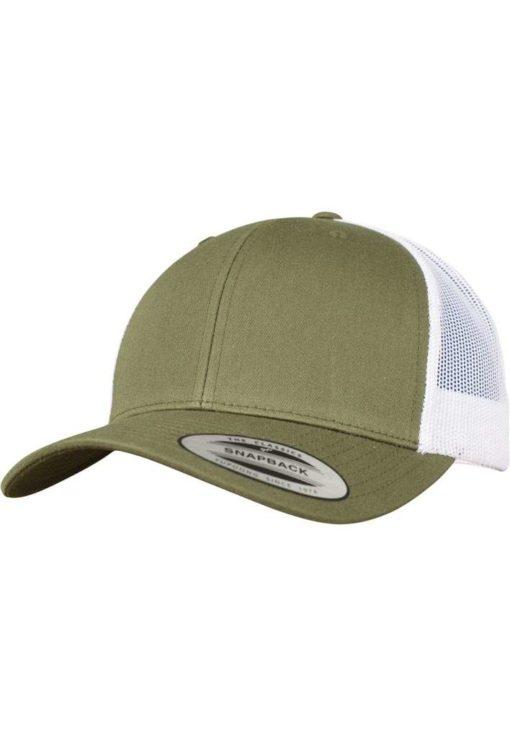 Trucker Cap Mesh Olive/Olive/Weiß - verstellbar