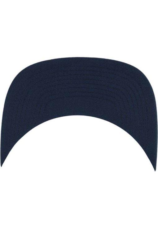 Trucker Cap Mesh Marineblau/Marineblau/Weiß - verstellbar Ansicht Schild