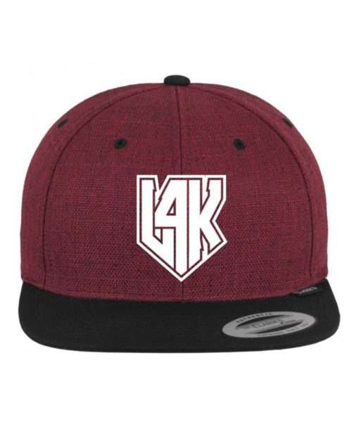 l4k-premium-snapback-cap-melange-rotmeliertschwarz-6-panel-verstellbar-1