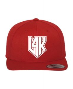 L4K Snapback Cap Classic Rot/Rot 6 Panel - verstellbar