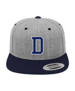 D-Classic Flexfit Cap Dunkelblau 5 Panel - Fitted