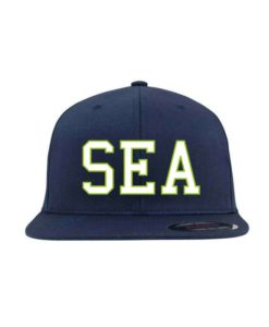 SEA-Classic Flexfit Flat Visor dunkelblau - Fitted