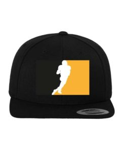 Steelers-Snapback Cap Classic Schwarz/Schwarz 6 Panel - verstellbar