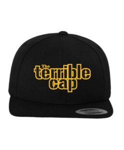 the terrible-Snapback Cap Classic Schwarz/Schwarz 6 Panel - verstellbar