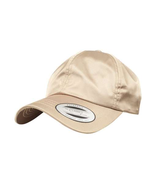 Low Profile Satin Cap Gold
