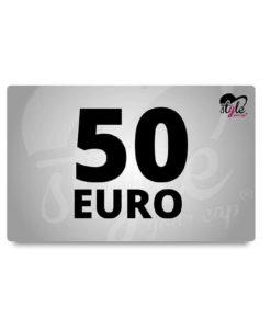50 Euro Gutschein von style your cap