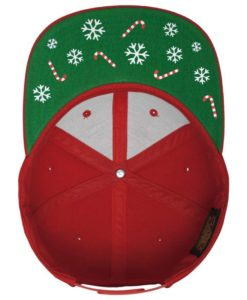 X-Mas Special Cap Santa Snapback Classic Rot Unterschild