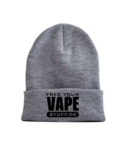vape-stuff-schwarz-hellgrau-beanie-style-your-cap