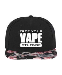vape-stuff-snapback-cap-floral-pink-6-panel-verstellbar