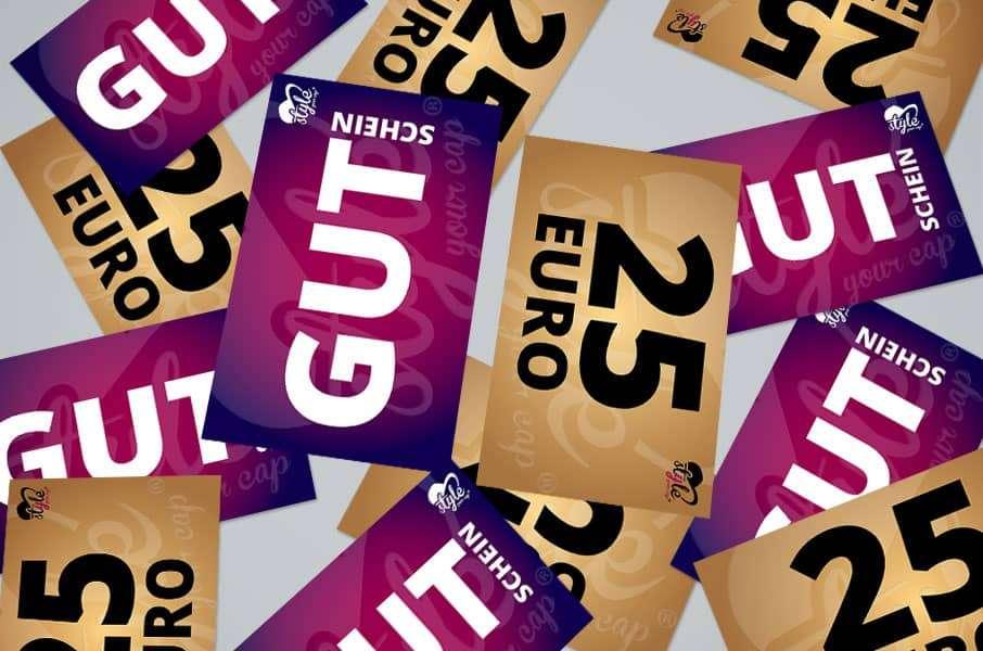 Geschenkgutscheine von styleyourcap.de online bestellen