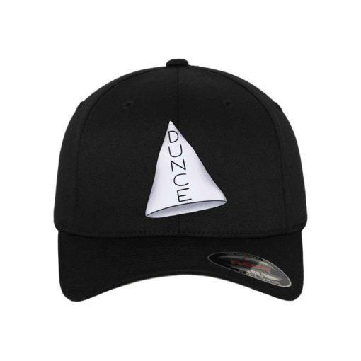 gta5-reallife-dunce-flexfit-cap-schwarz-wollmischung-6-panel-fitted