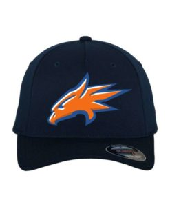 rostock-griffins-flexfit-cap-dunkelblau-5-panel-fitted