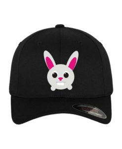 toto-hase-flexfit-cap-schwarz-wollmischung-6-panel-fitted