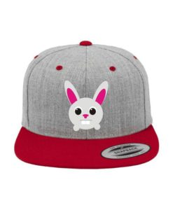 toto-hase-snapback-cap-classic-graumeliertrot-6-panel-verstellbar