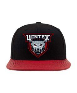 wintex-snapback-cap-metallic-schwarzrot-6-panel-verstellbar-1