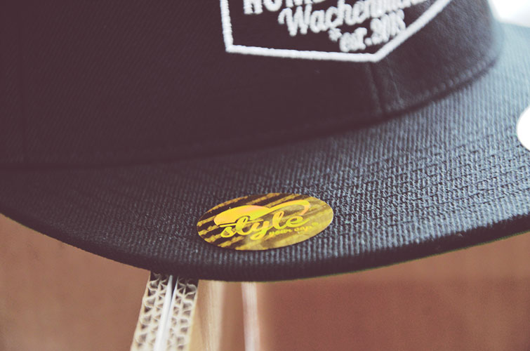 5-Panel-Cap-besticken