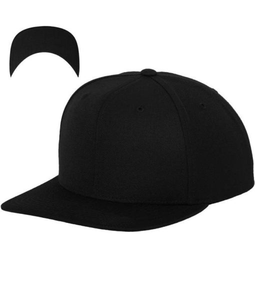 atlantis-cap-snapback-cap-6-panel-schwarz-schwarz-vorschau