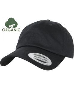 dad-cap-bio-baumwolle-schwarz-verstellbar-neu