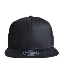 atalantis-cap-stage-cap-schwarz-snapback-vorne