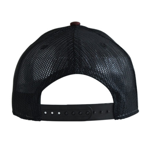atlantis-rapper-camou-trucker-cap-burgundy-black-verstellbar-back