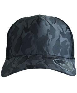 atlantis-rapper-camou-trucker-cap-navy-black-verstellbar-front