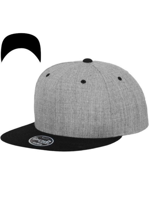snapback-cap-classic-graumeliertschwarz-6-panel-verstellbar