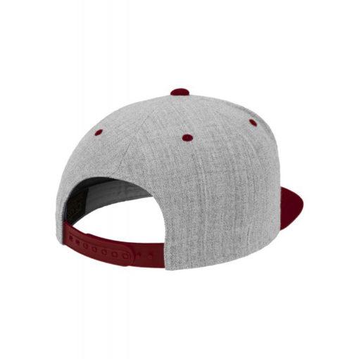 standard-snapback-cap-classic-graumeliertdunkelrot-6-panel-verstellbar-4