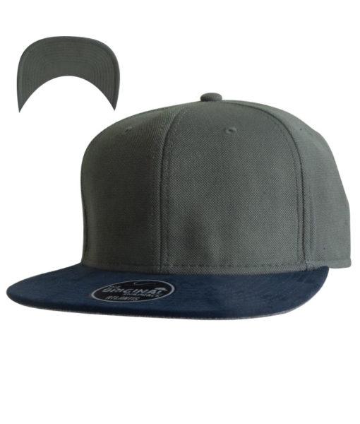 vibe-cap-snapback-dunkelgrau-dunkelblau-vorschau