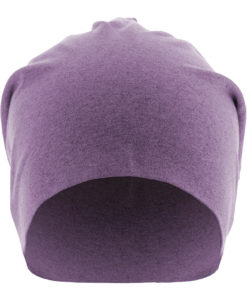 Heather Jersey Beanie lila Front