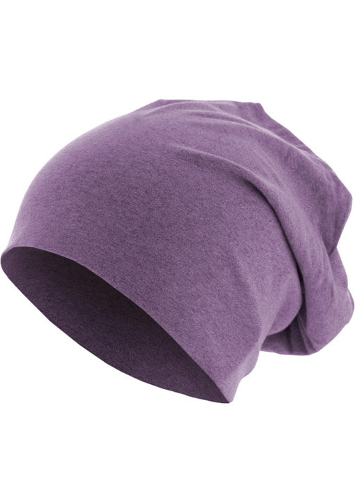 Heather Jersey Beanie lila