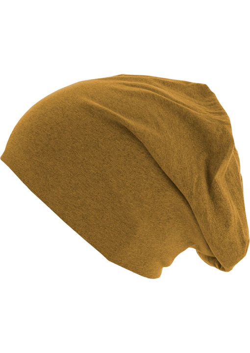 Standard Heather Jersey Beanie Yellow Seite links