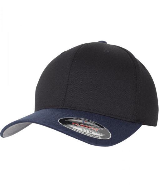 Flexfit Cap schwarz navy