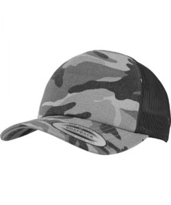 Camo Trucker Cap dark camo black
