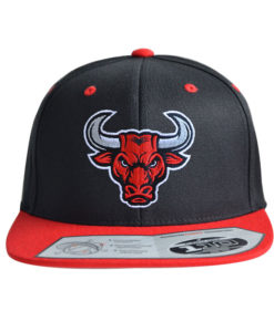 bull-cap-110-Black-red