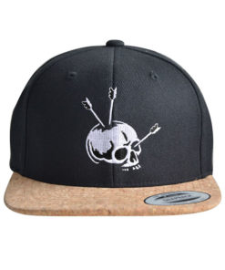 cap-skull-arrow-black-cork