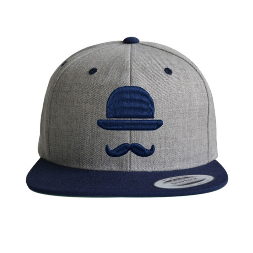 hipster-heather-dunkelblau-cap