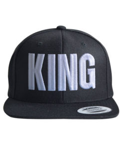 king-snapback-cap-black