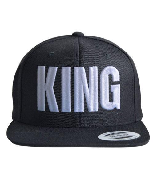 king-snapback-cap-black