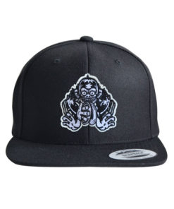monkey-2-cap-black-black
