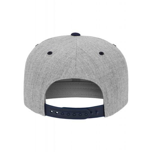 snapback-cap-classic-graumeliertdunkelblau-6-panel-verstellbar-2